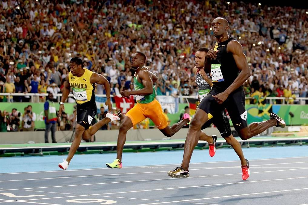 Rio Olympics 2016: Usain Bolt beats Justin Gatlin in 100m ...