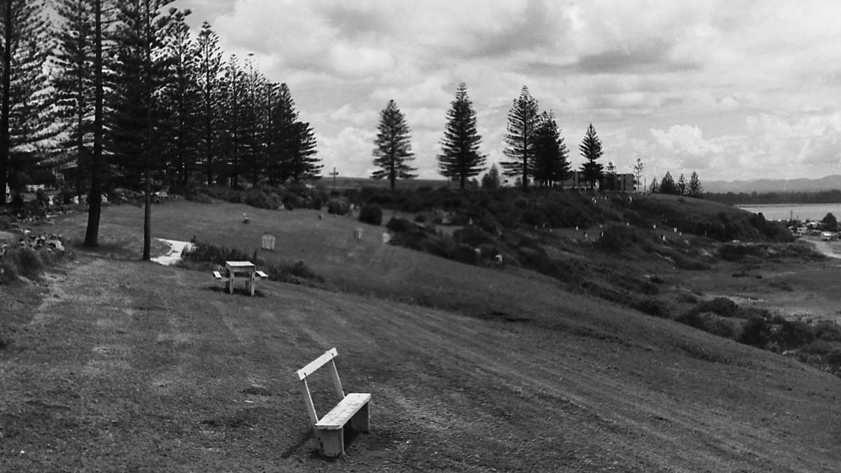 Picturesque: Mrs York's Garden is a place for peaceful reflection - 1970. Photos: Port Macquarie Museum.