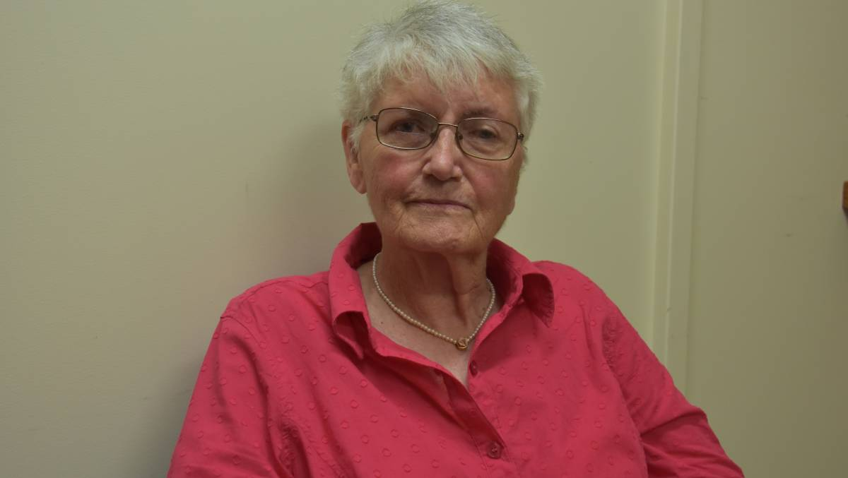 Dunbogan's Carmel Enkelmann was diagnosed with lung cancer in September 2017.